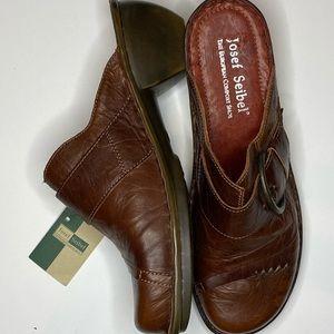 Josef Seibel European Comfort Shoe Brown Leather